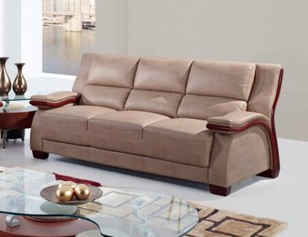 Global Furniture USA UA1411S  Stationary Bonded Leather Sofa