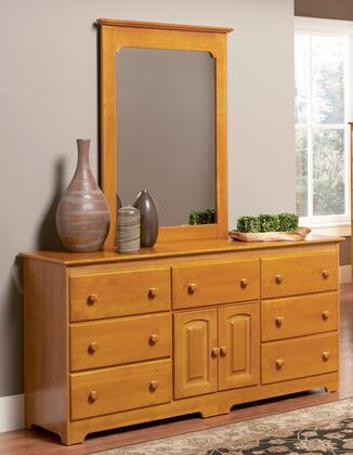 Atlantic Furniture C69766 Windsor Series  Dresser