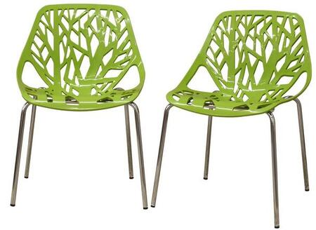 Wholesale Interiors DC-451 Birch Sapling Plastic Accent / Dining Chair