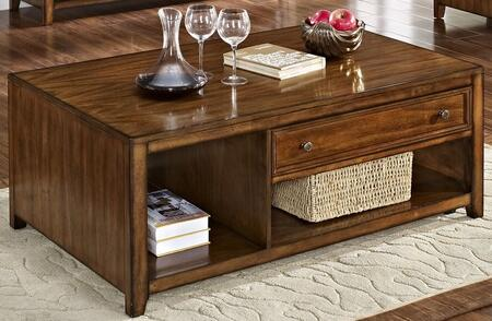 New Classic Home Furnishings Contempo Burnished Walnut