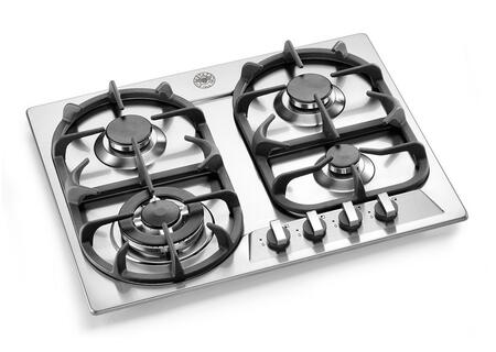 Bertazzoni P24400X Modular Series Gas Sealed Burner Style Cooktop