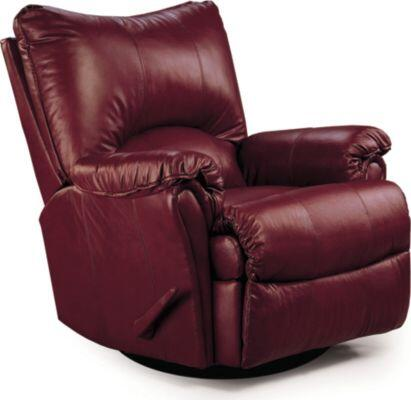 Lane Furniture 135327542760 Alpine Series Transitional Leather Wood Frame  Recliners