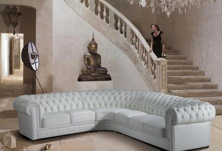 VIG Furniture VGEV2220B Paris Series  Leather Sofa