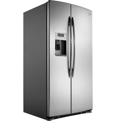 GE Profile PSHS6PGZSS Freestanding Side by Side Refrigerator