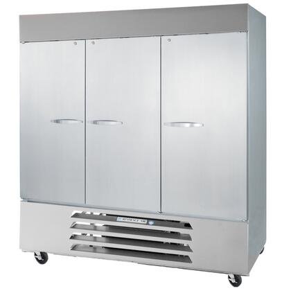 Beverage Air RB72-1 75 Inches Vista Series Three Sections [Solid Door] Reach-In Refrigerator