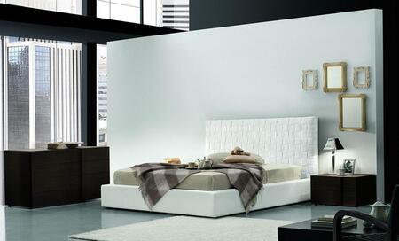 VIG Furniture VGSMLIDOMAXITI03K SMA Lido Maxi Series  Platform Bed