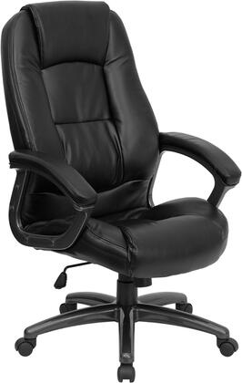 "Flash Furniture GO7145BKGG 26.75"" Contemporary Office Chair"