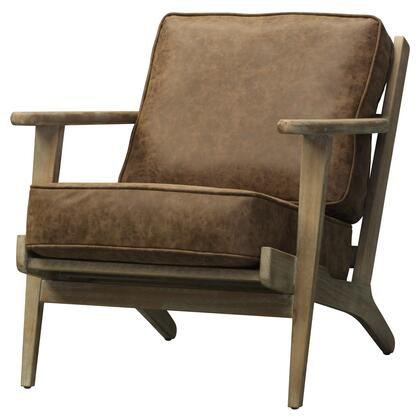 Chocolate Brown Accent Chairs.New Pacific Direct 3900024