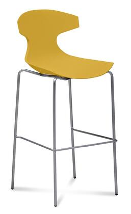 Domitalia ECHORAMFAEPSE Echo Series Residential Not Upholstered Bar Stool
