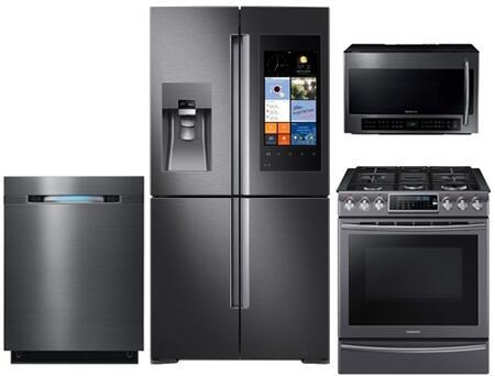 Samsung Appliance 714606 Black Stainless Steel Kitchen Appli
