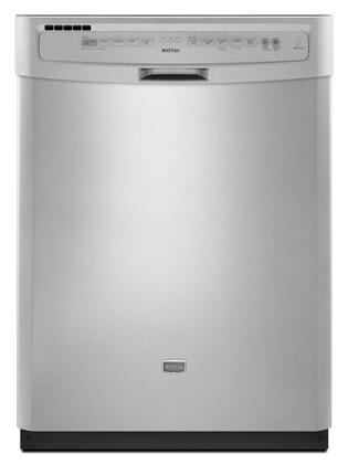 Maytag MDB7749AWM JetClean Plus Series Built-In Full Console Dishwasher