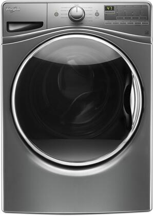 "Whirlpool WFW85HEFx 27"" Front Load Washer with 4.5 cu. ft. Capacity, TumbleFresh Option, ColorLast Cycle, PreSoak Option, EcoBoost Option, Steam Clean and Adaptive Wash Technology, in"