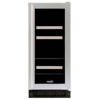 "Marvel 3BARMBSGR 14.88"" Built-In Wine Cooler, in Stainless Steel Frame Glass Door"