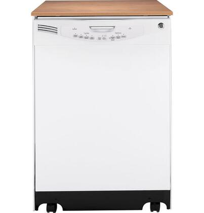 GE GLC5604VWW  Portable Full Console Dishwasher |Appliances Connection