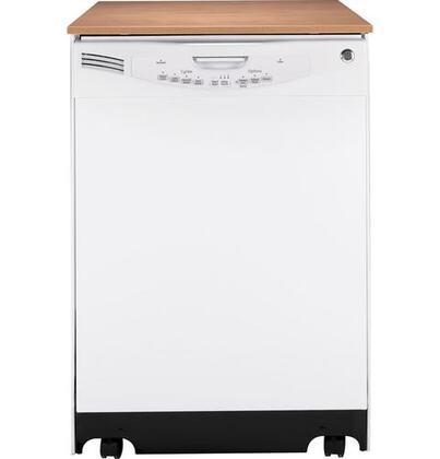 GE GLC5604VWW  Portable Full Console Dishwasher