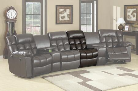 Coaster 600004AR Modern Style Leather  Recliners