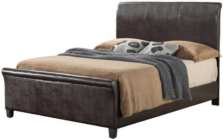 Glory Furniture G2750FBUP G2700 Series  Full Size Sleigh Bed