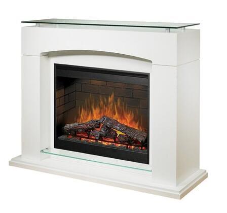 Dimplex SOP285W Laguna Series Vent Free Electric Fireplace