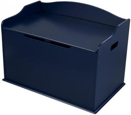 KidKraft 1495B Austin Toy Box With Safety Hinge On Lid, Composite Wood Materials Construction & In