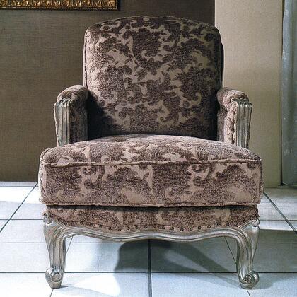 Yuan Tai NC1035C Nicola Series Fabric Chair with Wood Frame