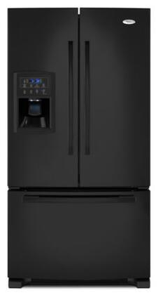 Whirlpool GI0FSAXVB  French Door Refrigerator with 19.8 cu. ft. Total Capacity 5 Glass Shelves