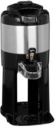 Bunn-O-Matic 42700.000X 1GAL Thermofresh Digital Sight Gauge Portable Server With Base, Digital Count-up Timer, Fast Flow Faucet, Vacuum Insulated, in