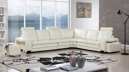 American Eagle Furniture Ae L213 Faux Leather Sectional Sofa