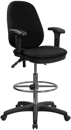 "Flash Furniture KCB802M1KGARMSGG 24"" Contemporary Office Chair"