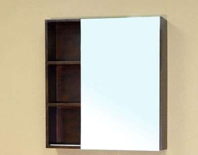 Bellaterra Home 203132MIRROR  Rectangular Bathroom Mirror