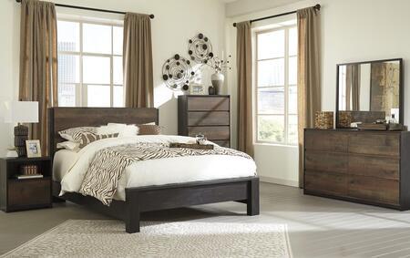 Milo Italia BR462QPBDMN Huffman Queen Bedroom Sets