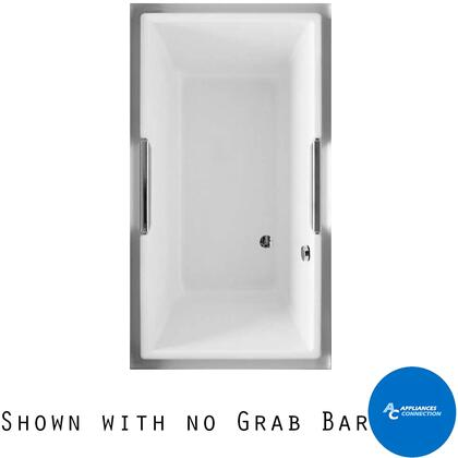 Toto ABY930N01 Lloyd Series Drop-In Soaker Bathtub with Acrylic Construction, Slip-Resistant Surface, and Grab Bar