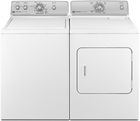 Maytag MVWC400XW-MEDC200XW-PAIR Washer and Dryer Combos