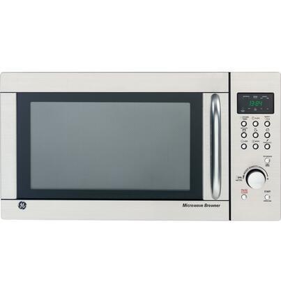 Ge Jes1384sf Countertop Microwave In Stainless Steel
