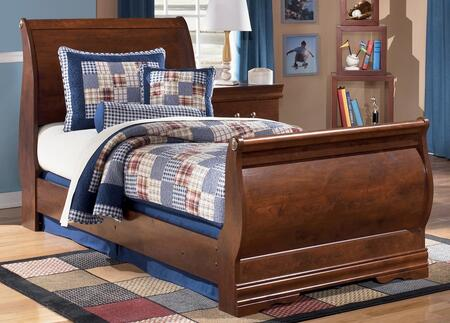 Signature Design by Ashley B178626382 Wilmington Series  Twin Size Sleigh Bed