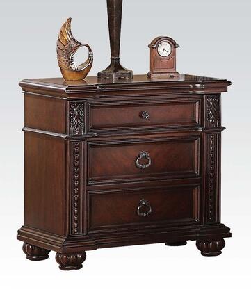Acme Furniture 21313 Daruka Series Rectangular Wood Night Stand