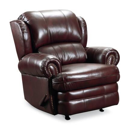 Lane Furniture 542127542715 Hancock Series Traditional Leather Metal Frame Rocking Recliners