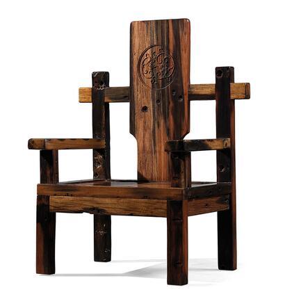 Argo Furniture DSA04 Aegle Series Armchair Wood Frame Accent Chair