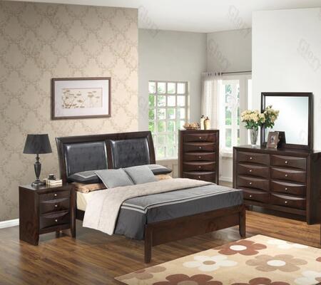 Glory Furniture G1525AQBDMN G1525 Queen Bedroom Sets