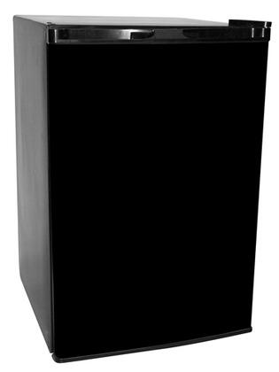 Haier HNSE05BB HNSE05 Series Compact Refrigerator with 4.6 cu. ft. Capacity in Black