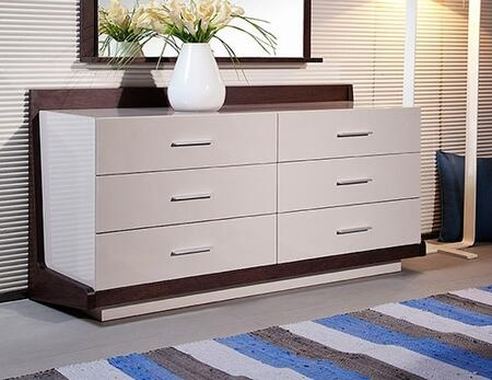VIG Furniture VGWCSGD01 Modrest Volterra Series Veneers Dresser