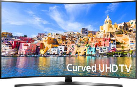Samsung UNx Class KU7500 7-Series Curved 4K UHD TV (2016 Model) with Active Crystal Color, Slim Curve Design, and Simplified Smart TV Experience: Black