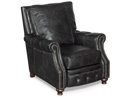 Hooker Furniture RC150-0 Old Saddle Series Traditional-Style Living Room Recliner Chair