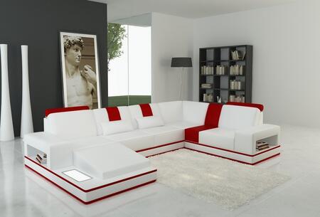 VIG Furniture Sectional Sofa VGEV5075 White | Appliances Connection