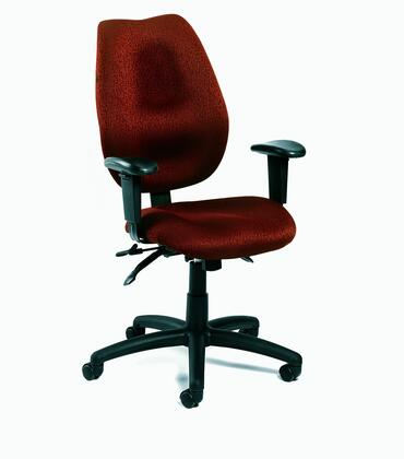"Boss B1002BY 30.5"" Adjustable Contemporary Office Chair"