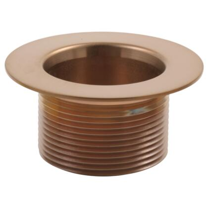 RP16687BZ Delta: Toe-Operated Waste Plug in Brushed Bronze Brilliance