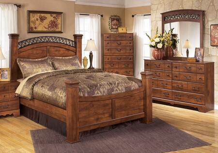 Signature Design by Ashley B258KPBDM Timberline King Bedroom