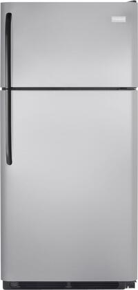 Frigidaire FFHT1814LM Freestanding Top Freezer Refrigerator with 18.2 cu. ft. Total Capacity 2 Wire Shelves 4.07 cu. ft. Freezer Capacity