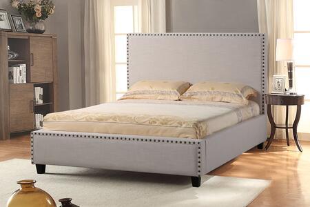 Diamond Sofa LAJOLLASDQUBED La Jolla Series  Queen Size Panel Bed