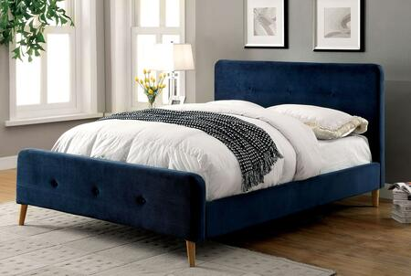 Furniture of America CM7272NVFBED Barney Series  Full Size Platform Bed