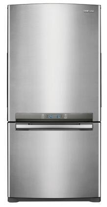 Samsung Appliance RB215ACPN  Bottom Freezer Refrigerator with 20 cu. ft. Capacity in Platinum